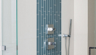 Blue-shining-glass-shower-tile-in-Rancho-Santa-Margarita-bathroom-remodel