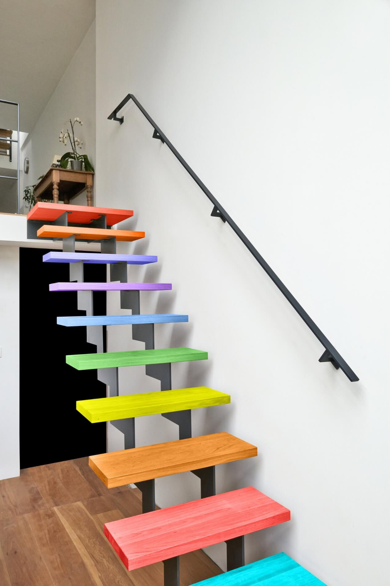 Colorful-stair-design