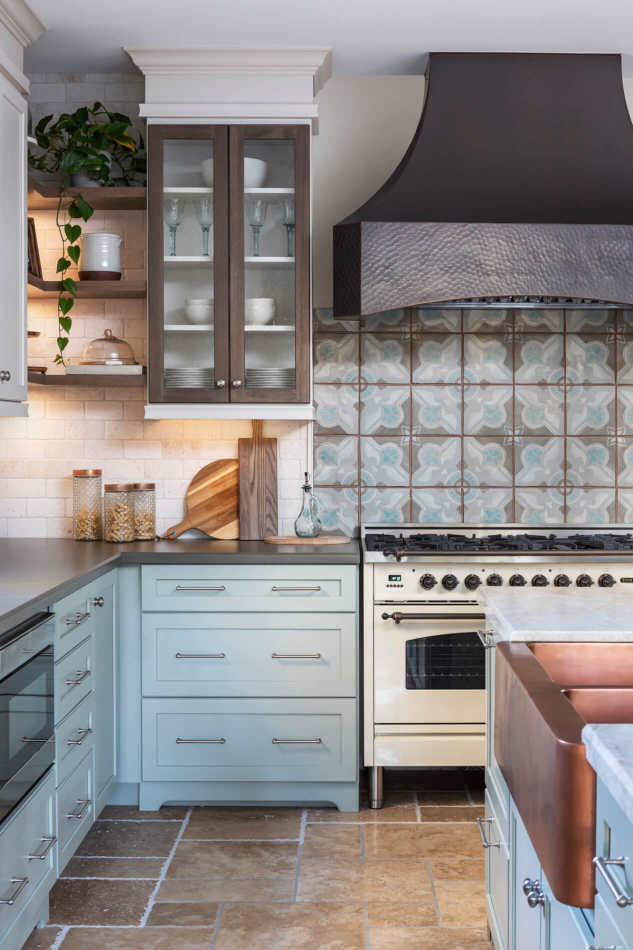 Grout-and-Soapstone-countertops-in-Farmhouse-Renovation