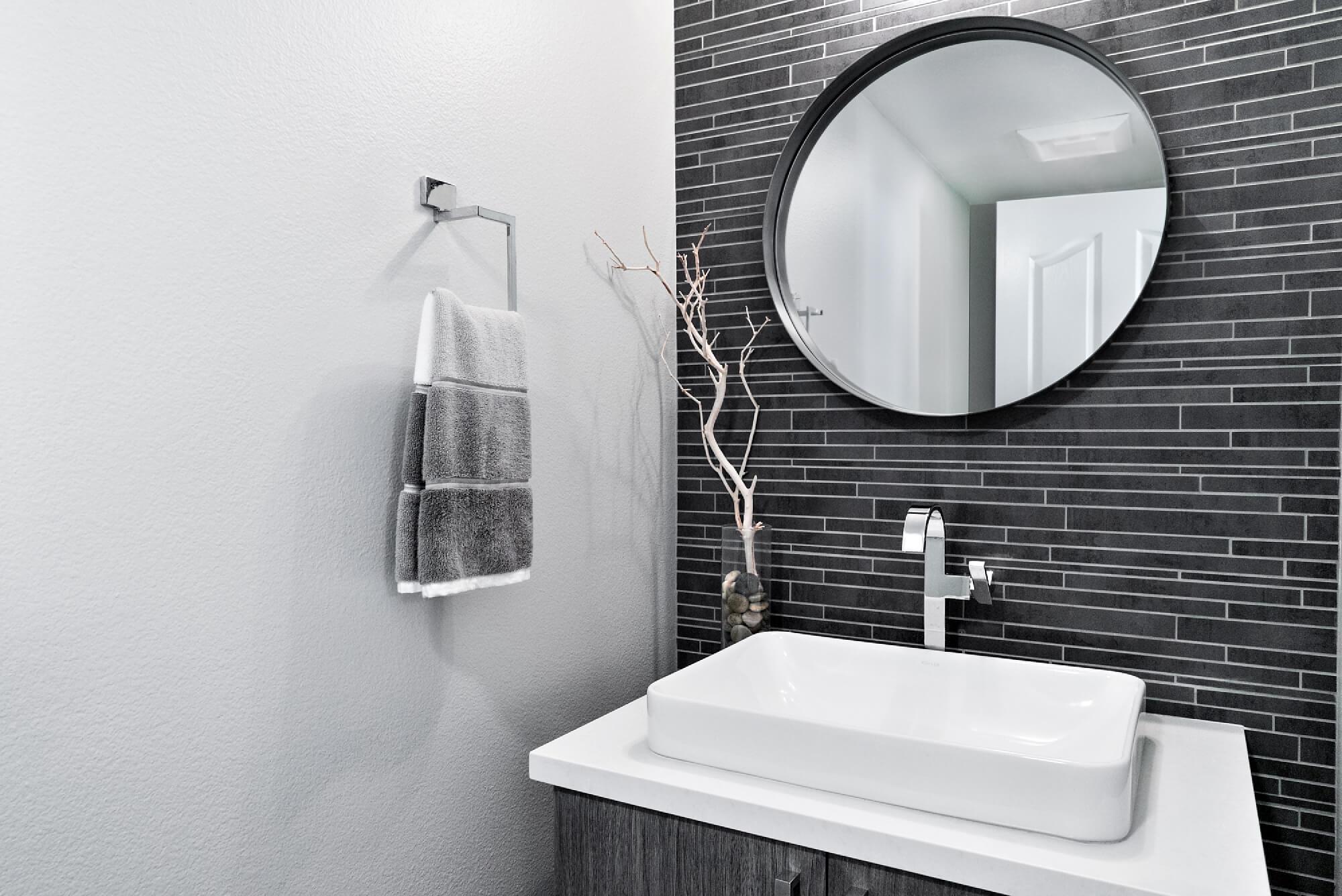 Simple powder bath remodel