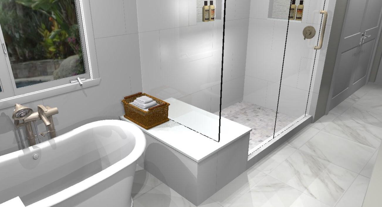 Shower-bench-rendering-in-bathroom-remodel