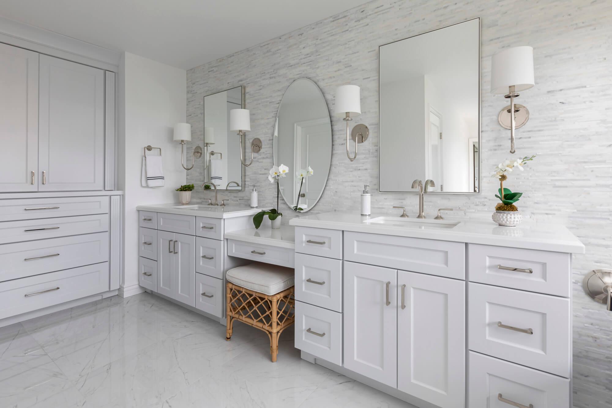 Natural-stone-marble-porcelain-flooring-in-bathroom-remodel