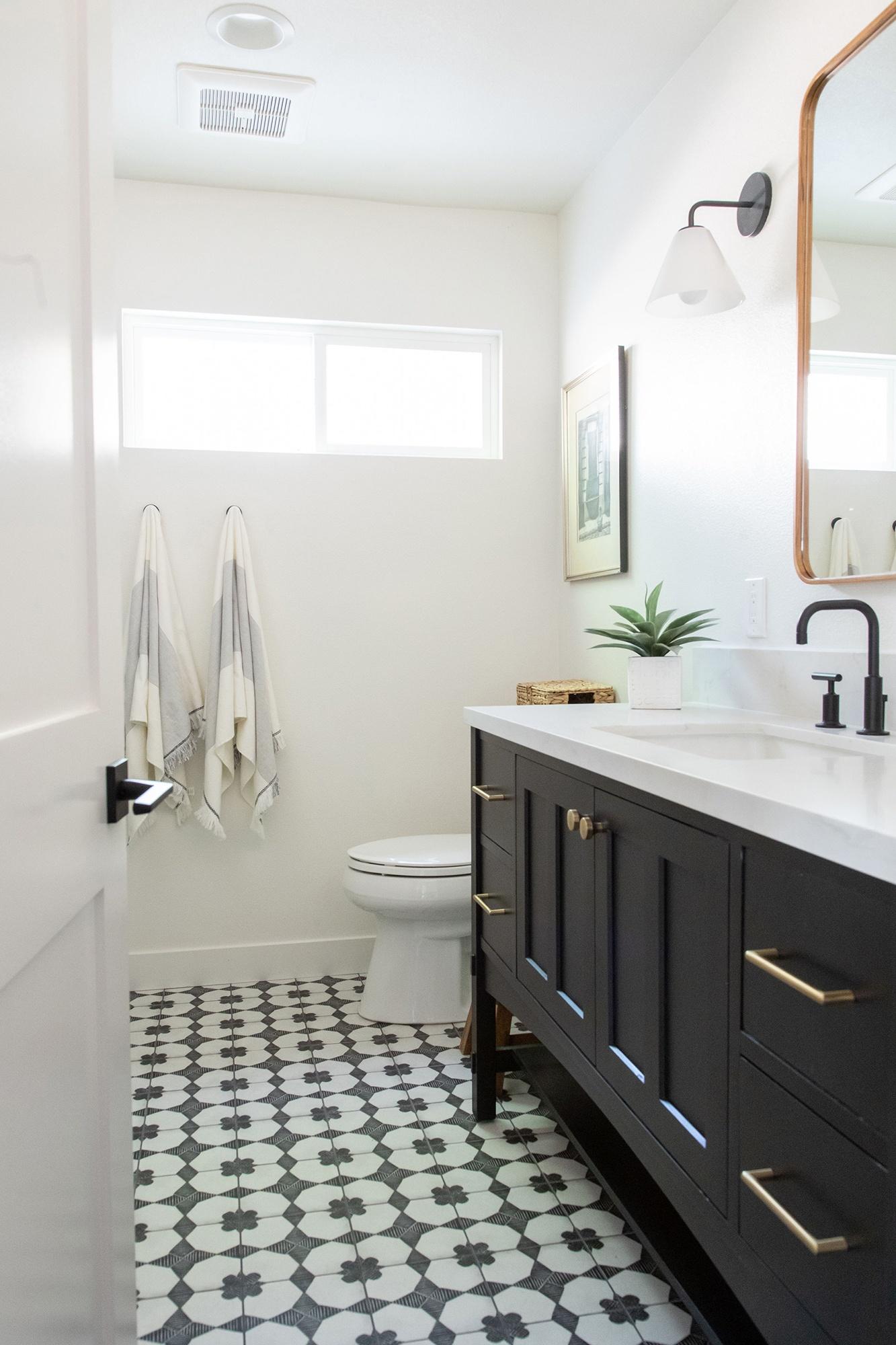 Porcelain-tile-flooring-in-bathroom-renovation