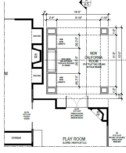 California Room Elevations