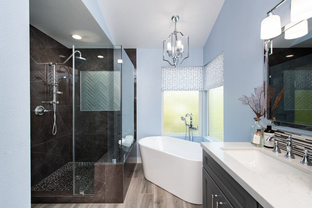 Bold and Beautiful Master Suite Remodel in Lake Forest