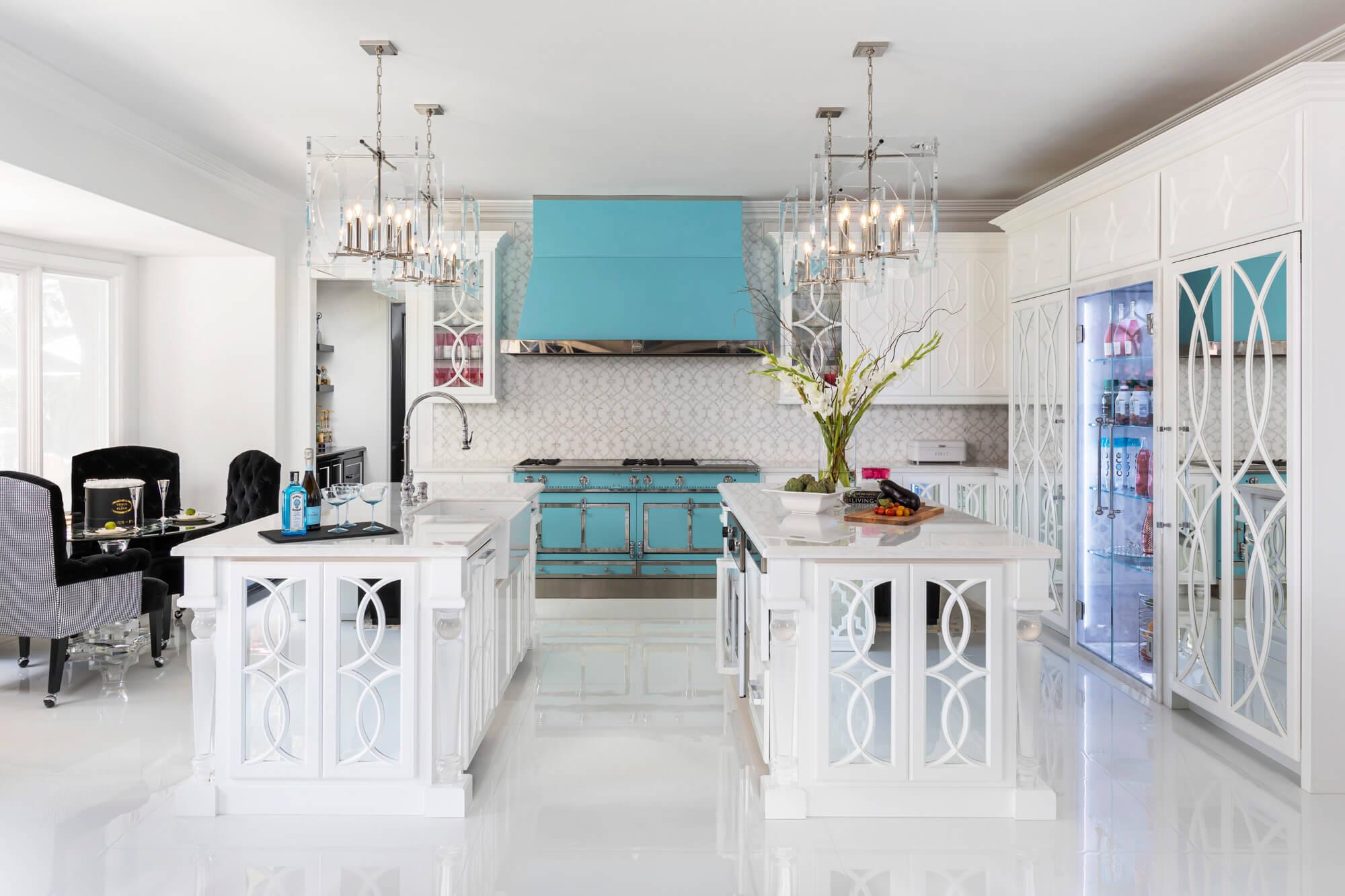 two-kitchen-islands-design