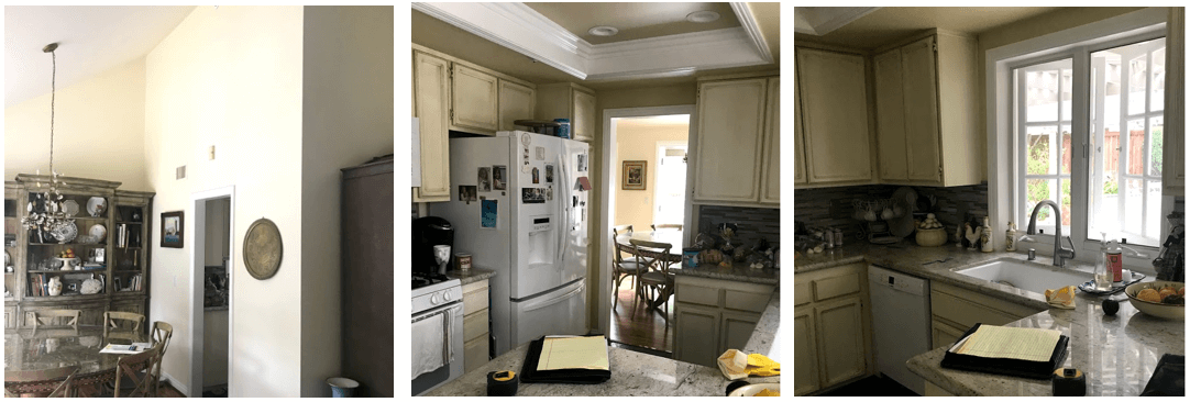 Structural kitchen remodel