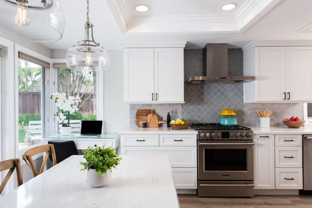 Coastal Kitchen Remodel with Universal Design in San Clemente