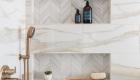Master Bathroom Remodel With Towel Storage