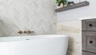 Dark-porcelain-shower-wall-tile-in-bathroom-remodel