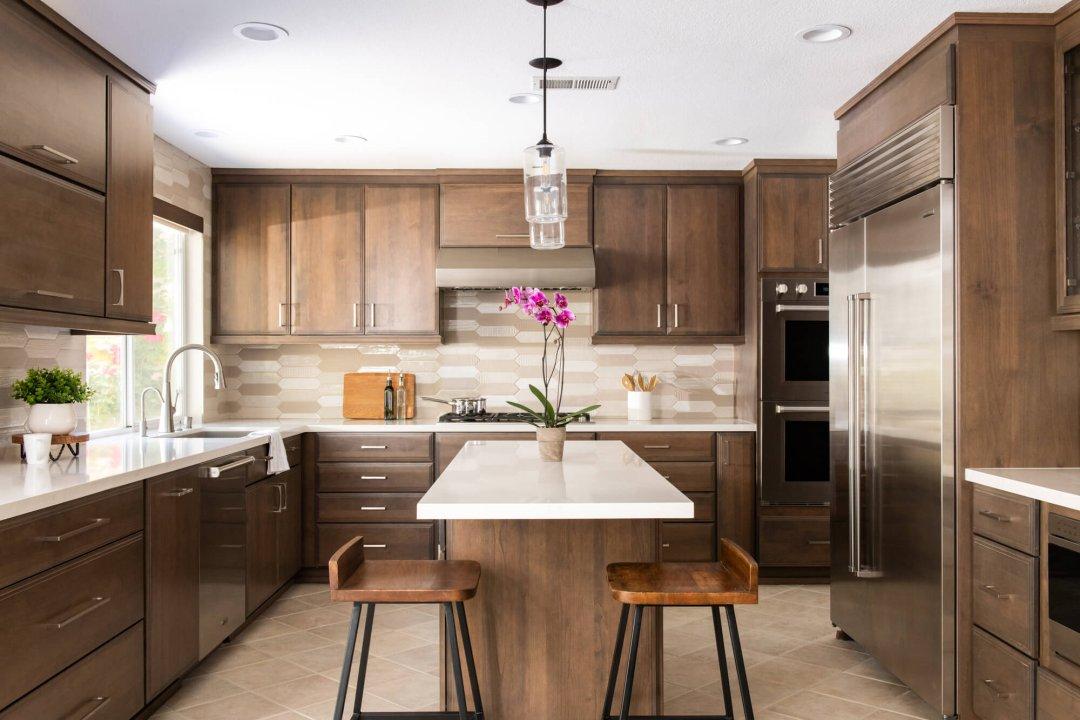 Modern Twist on a Classic Kitchen Design in Rancho Santa Margarita Remodel