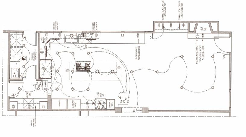 Kitchen Lightinig Plan