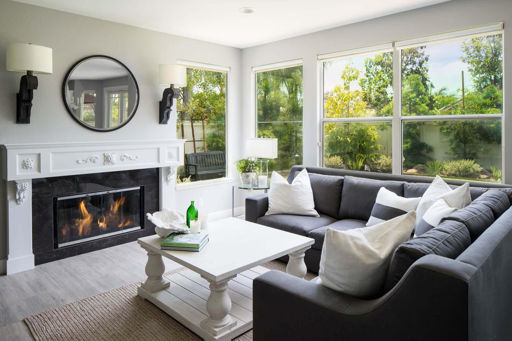 Your living room lighting plan