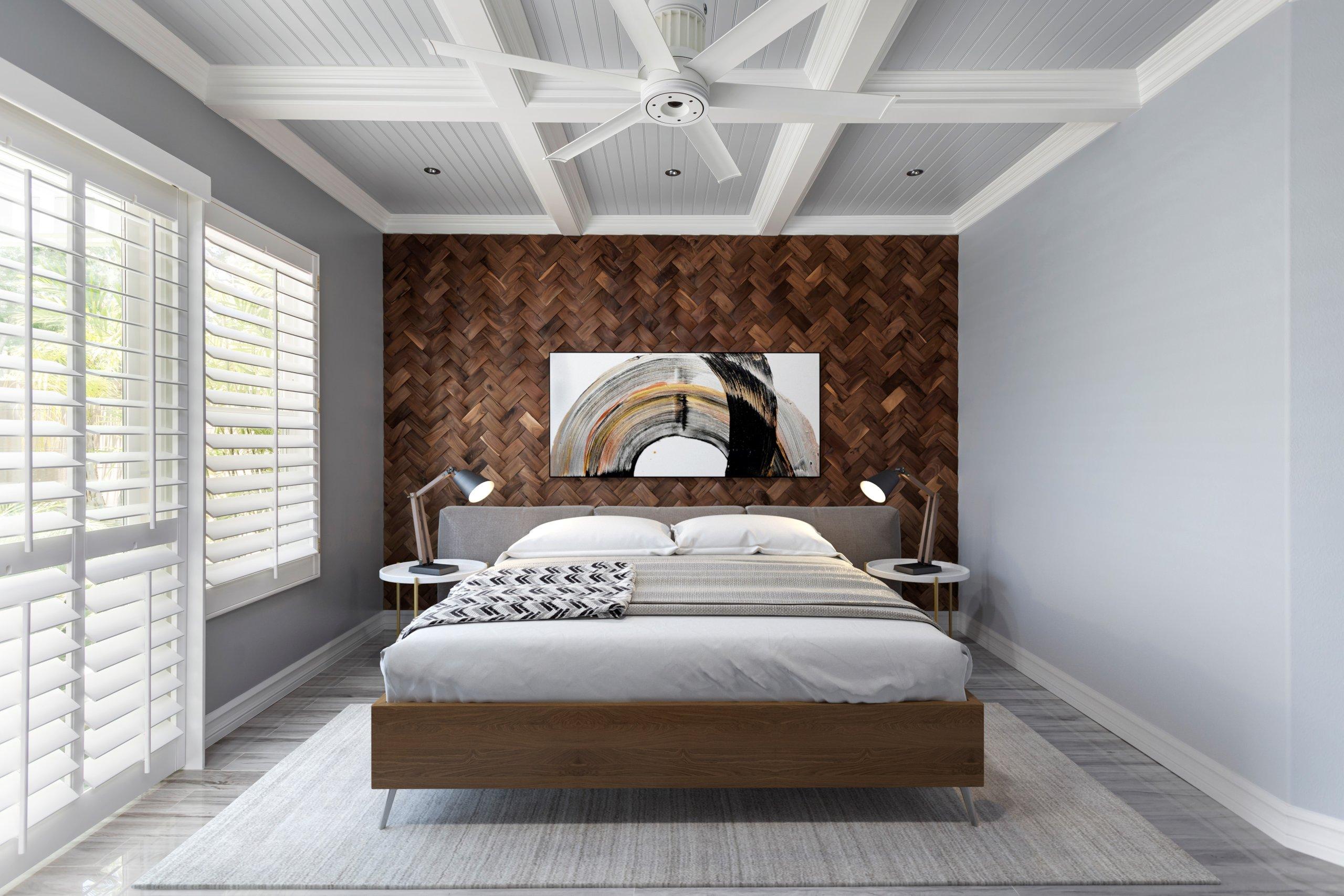 Bedroom lighting plan