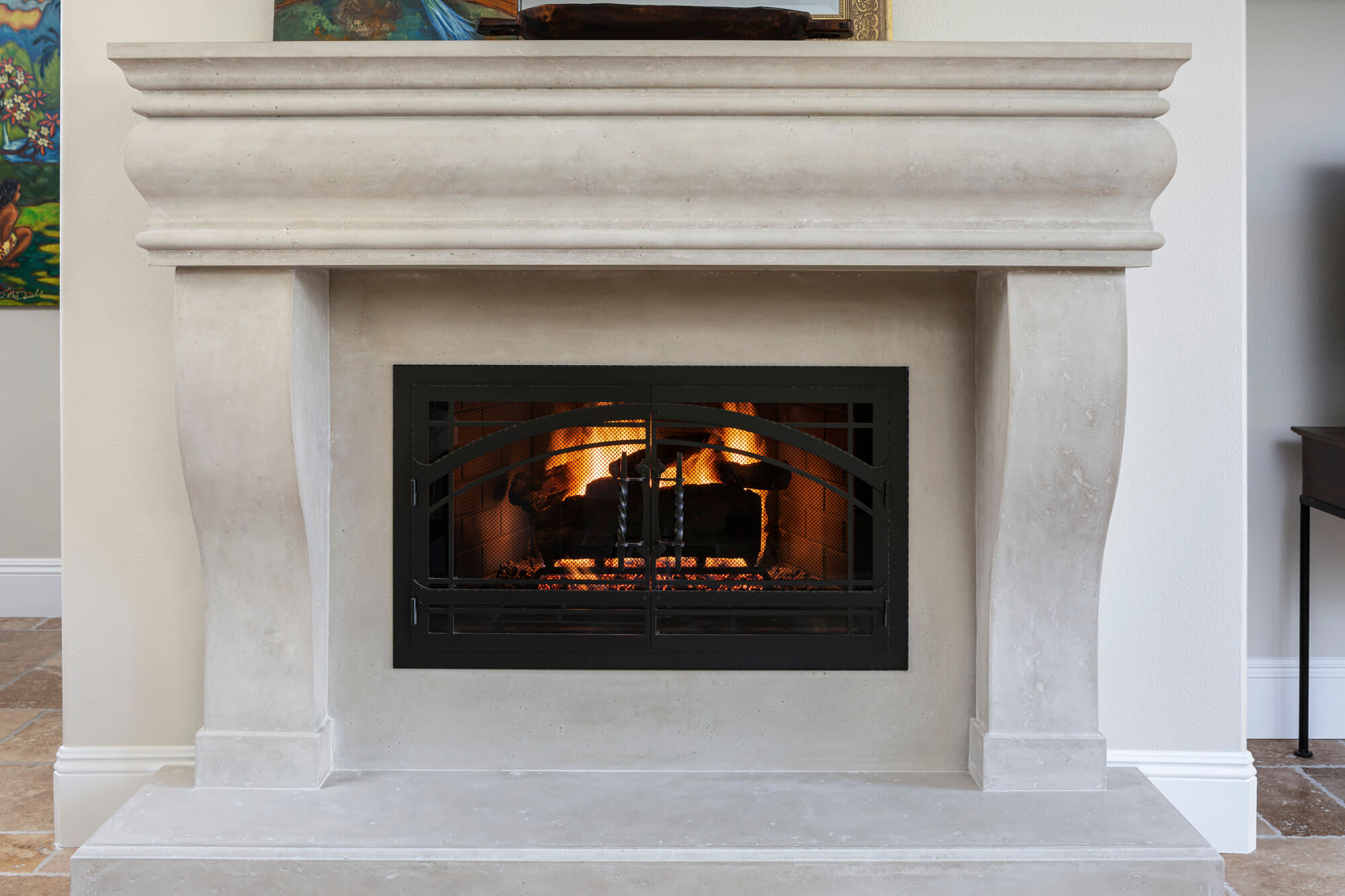 reface your fireplace
