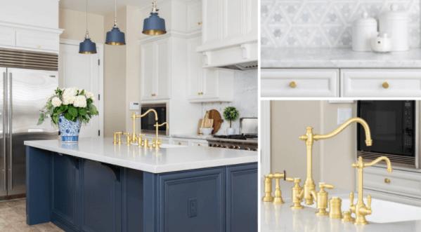 kitchen hardware color change
