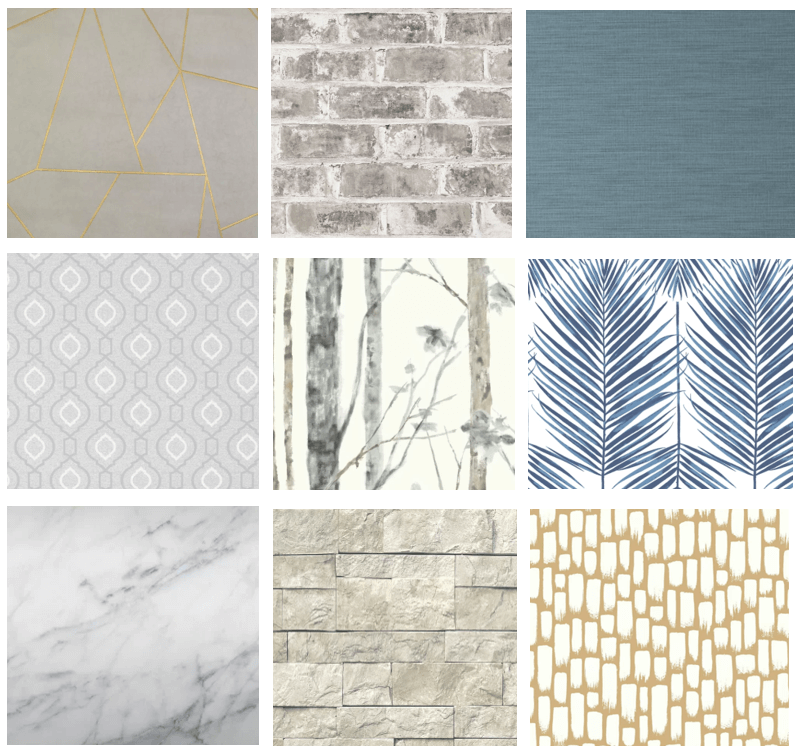 Wallpaper is becoming increasingly popular in home design